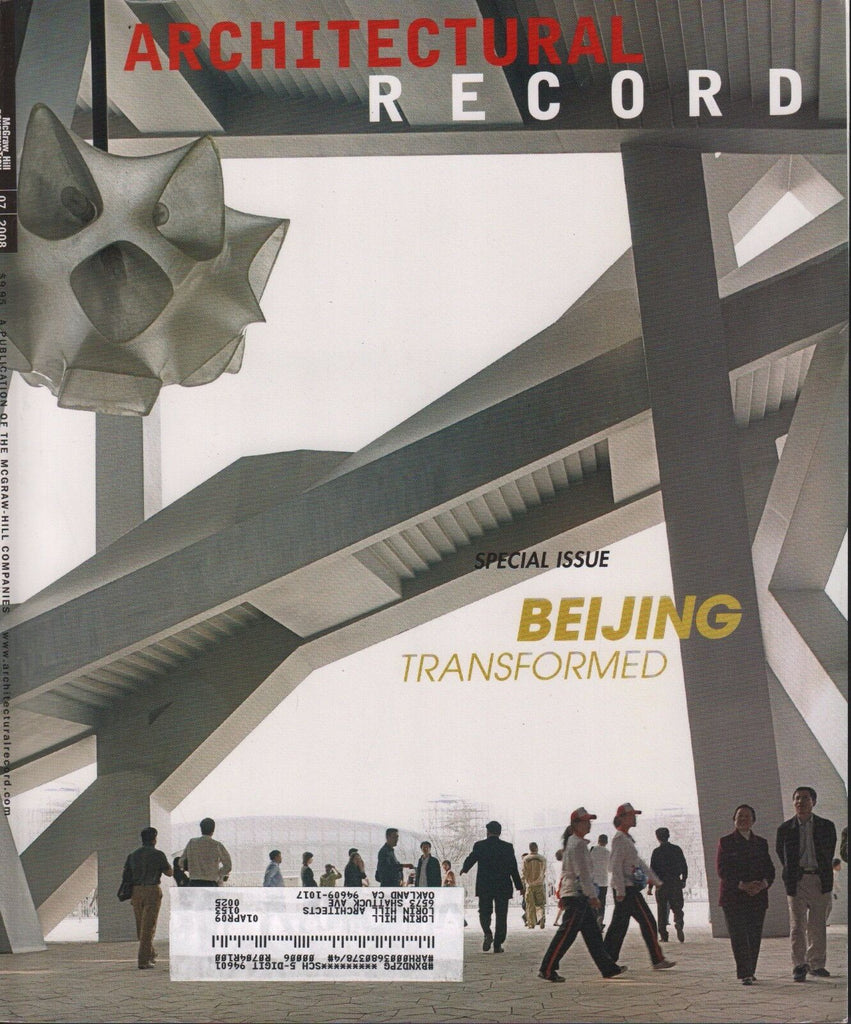 Architectural Record July 2008 Beijing Transformed 072517nonDBE2