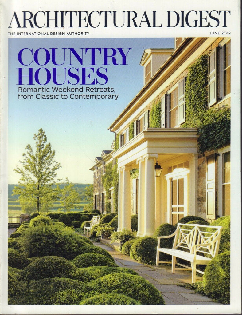 Architectural Digest June 2012 Country Houses 021617DBE2