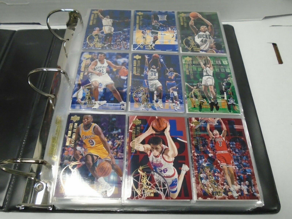 Upper Deck 94'-95' Basketball Complete 351 Card Set Shaquille O'Neal 121219AMCS