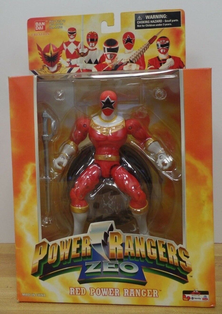 Bandai Creation Power Rangers Zeo Red Power Ranger 123118DBT2