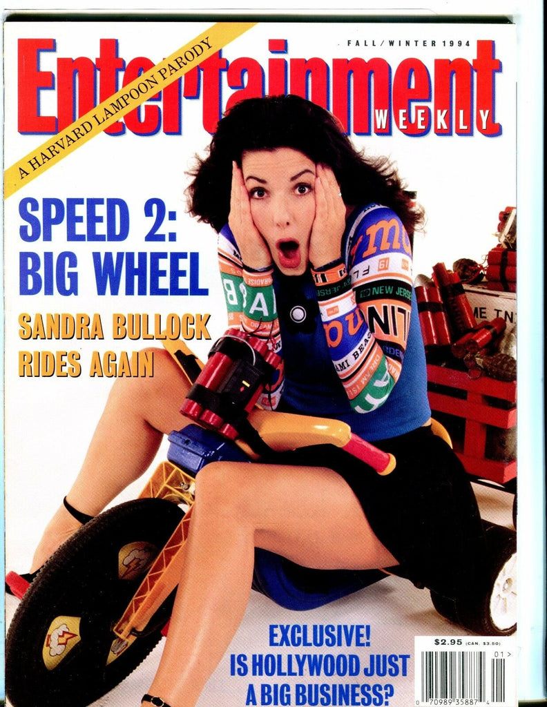 Entertainment Weekly Magazine Fall/Winter 1994 Sandra Bullock EX 051517nonjhe