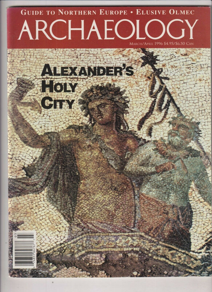 Archaeology Magazine Alexander's Holy City March/April 1996 112719nonr