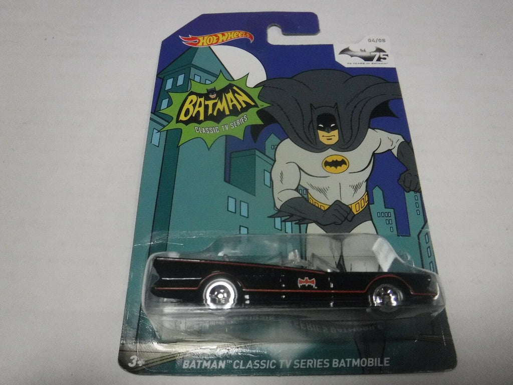 Hot Wheels Hot Wheels Batman Classic TV Series Batmobile 2014 120618AMCAR