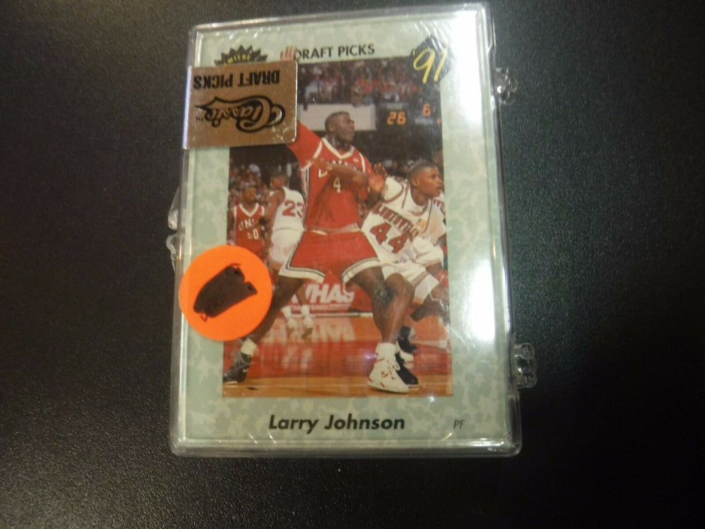 1991 Classic Draft Picks Sealed Complete Set w/Larry Johnson jh67