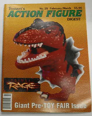 Action Figure Digest Magazine Giant Pre-Toy Fair February/March 1996 082115R