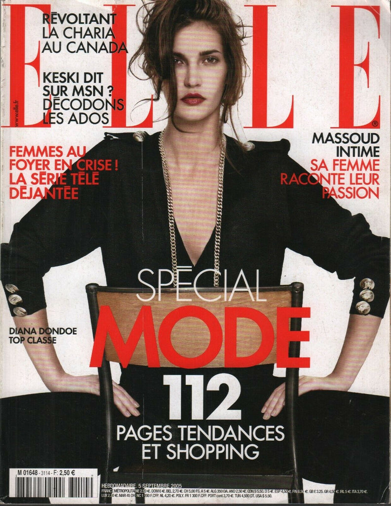 Elle Fench Fashion 5 Septembre 2005 Diana Dondoe 092719AME