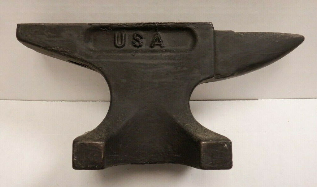"USA Cast Iron Vintage Jewelers Bench Anvil Metal Working 9""x2"" 093019DBT2"