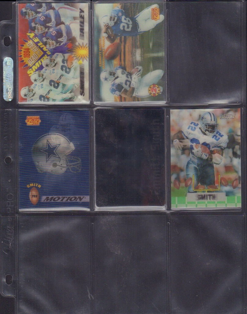 Emmitt Smith Lot Of 5 Motion Cards Super Bowl Promo 110117jh2