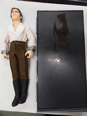 "Lot of Hon Solo Collectibles12"" Figure and Carbonite Light 082018DBT4"