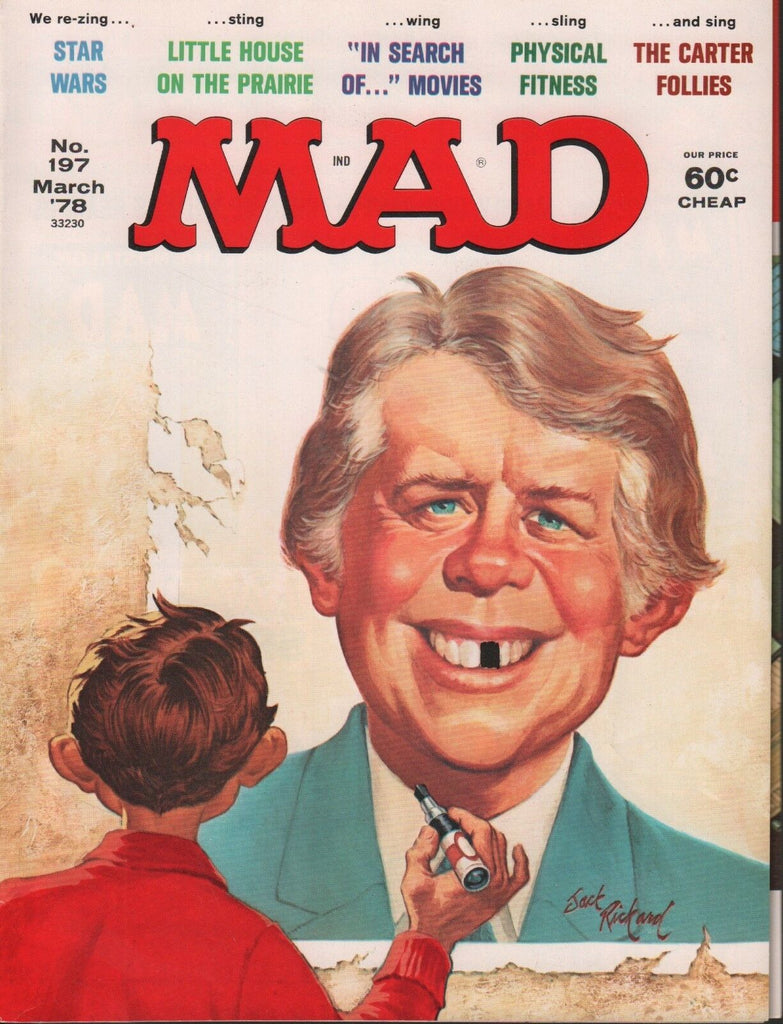 Mad Magazine March 1978 Jimmy Carter Star Wars 031318DBE