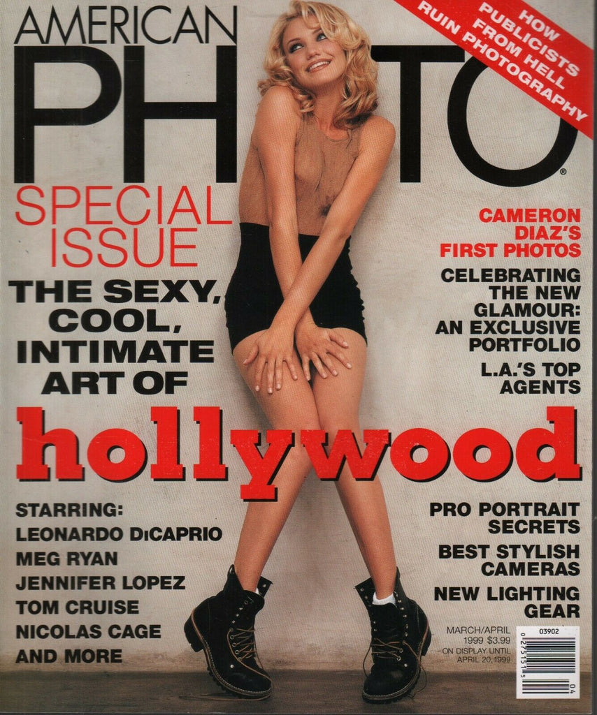 American Photo Magazine March/April 1999 Cameron Diaz Tom Cruise 102419AME
