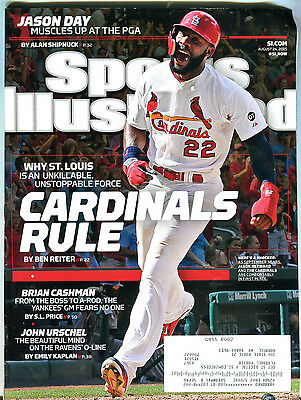 Sports Illustrated Magazine August 24 2015 Jason Heyward EX 051016jhe