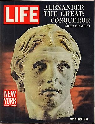 Life Magazine May 3 1963 Birthday Alexander the Great VG 051816DBE2