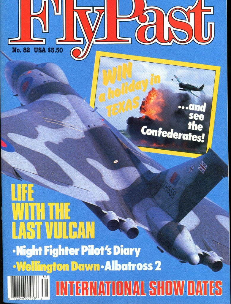 FlyPast Magazine May 1988 The Last Vulcan EX No ML 112616jhe