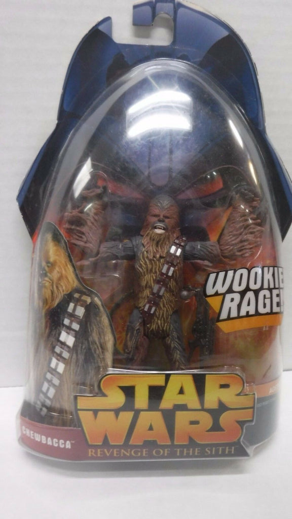 Star Wars Revenge of the Sith Chewbacca Woogiee Rage 030917DBT