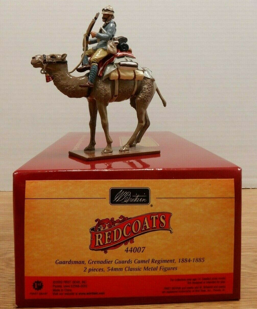 Redcoats Guardsman Grenadier Guards Camel W Britain 1st Gear 54mm 112219DBT4