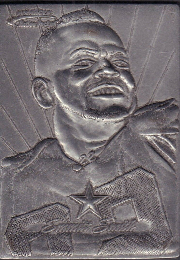 Emmitt Smith 1996 Action Packed Metal Mail Away Card DBCD