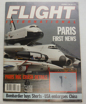 Flight International Magazine Paris First News June 1989 FAL 061015R