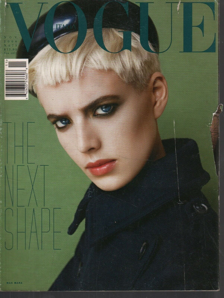Vogue Italia November 2006 Agyness Deyn by Steven Meisel 080919AME2