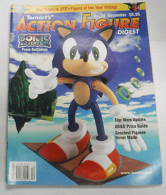 Action Figure Digest Magazine Sonic Adventure December 1999 082115R