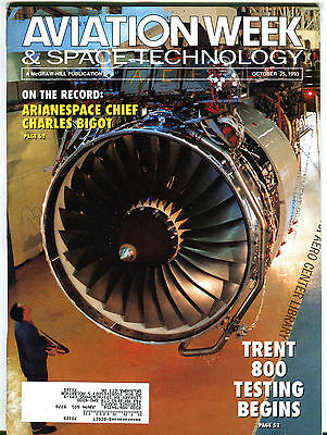 Aviation Week & Space Technology Magazine October 25 1993 EX FAA 031116jhe