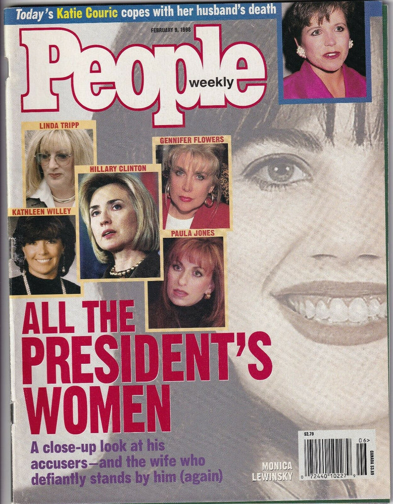 People Weekly All Of Bill Clinton's Women February 9, 1998 052219nonr