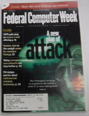 Federal Computer Week Magazine Pentagon's Strategy March 2002 071415R
