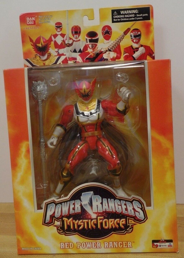 "Bandai Creation Power Rangers Mystic Force Red Ranger 6"" 123118DBT2"