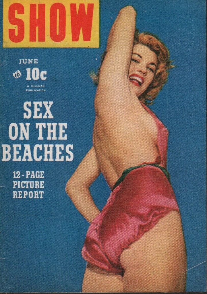 Show Digest June 1954 Maria Stinger Cheesecake Pin Up 070819AME