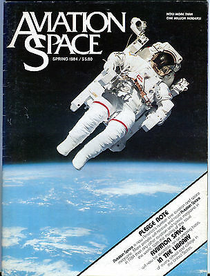 Aviation Space Magazine Spring 1984 EX FAA 030716jhe