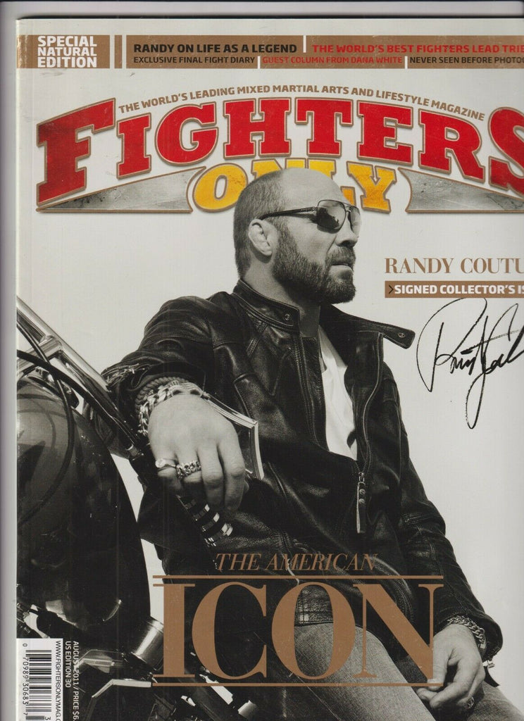 Fighters Only Mag Randy Couture Special August 2011 102919nonr