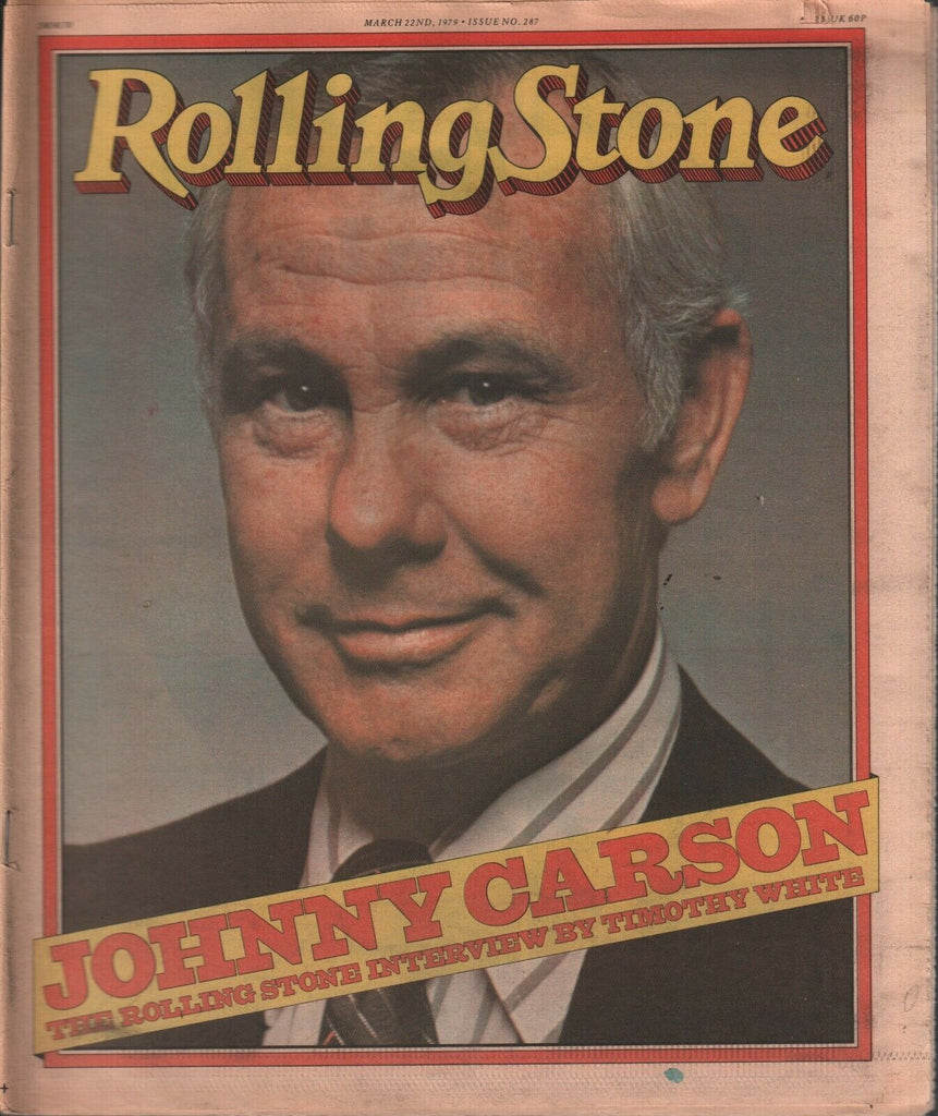 Rolling Stone Magazine March 22 1979 Johnny Carson Timothy White 121119AME3