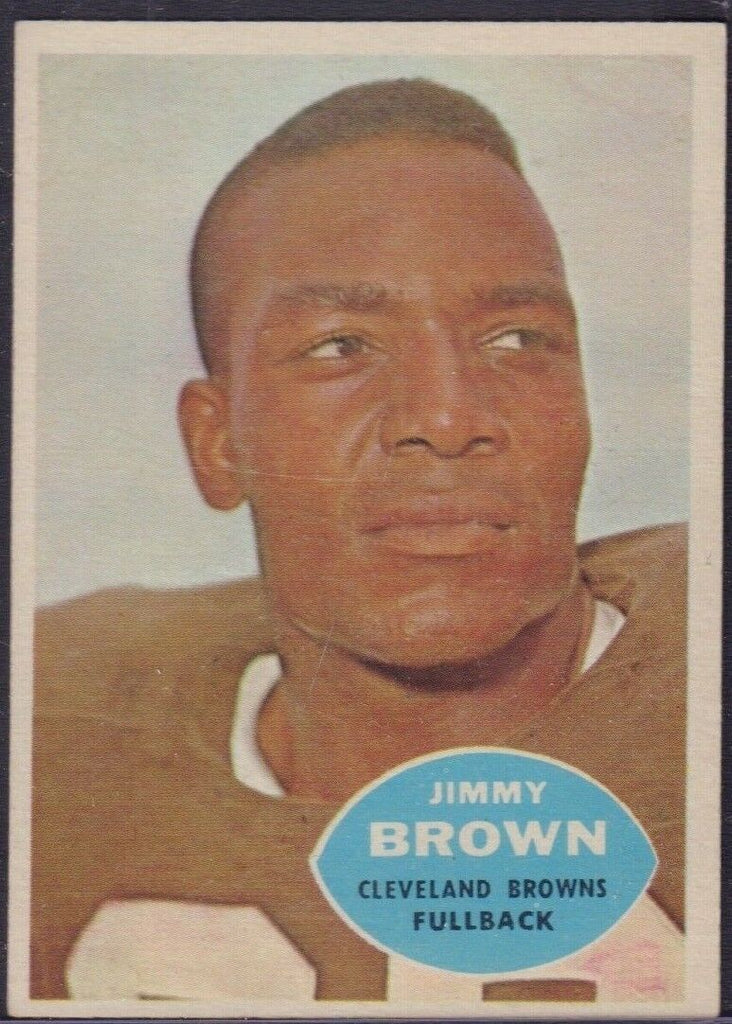 Jimmy Brown Clevland Browns TOPPS #23 1960 122118DBCD