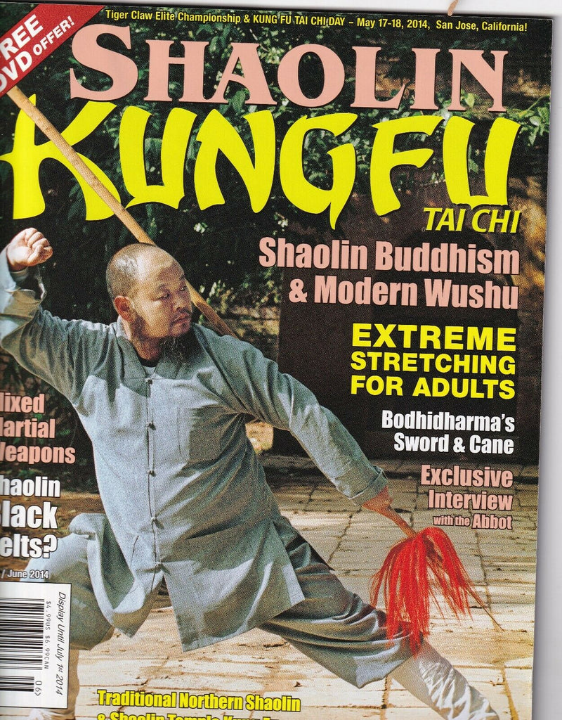 Shaoilin Kungfu Magazine Buddhism & Modern Wushu May/June 2014 051719nonr