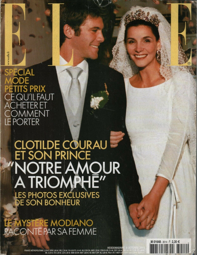 Elle French Fashion Magazine 6 Octobre 2003 Claudio Emanuele Filiberto 091919AME