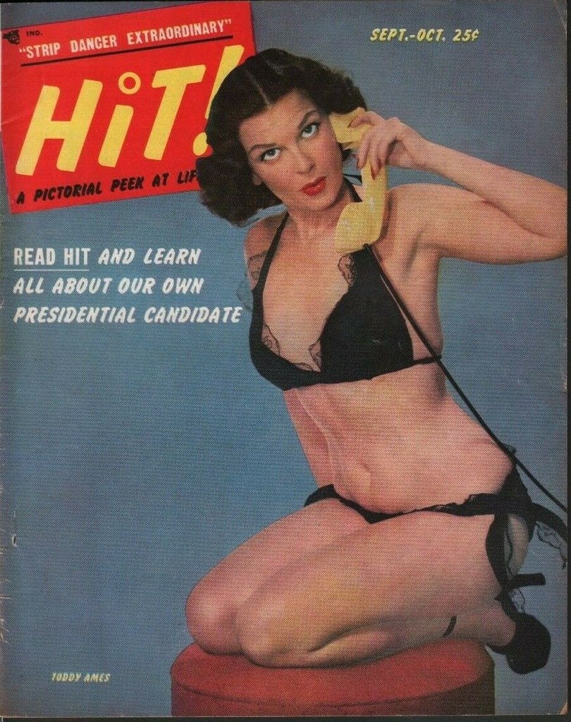 HiT Pinup Magazine September October 1952 Toddy Ames Joan Winfield 071719DBE