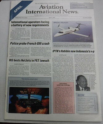 Aviation International News Magazine IPTN's Habibie April 1998 FAL 072115R