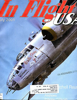In Flight USA Magazine July 2001 Preview Oshkosh EX FAA 030716jhe