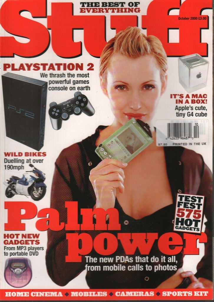 Stuff UK Technology Magazine October 2000 PlayStation Alan Strut 120919AME2