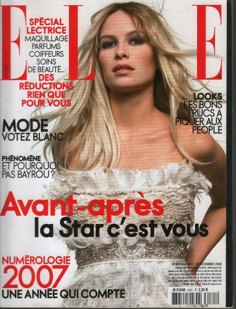 Elle French Fashion Magazine 18 Decembre 2006 Benoit Peverelli 091819AME