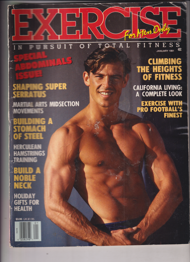 Exercise Magazine Special Abdominals Issue January 1991 122319nonr