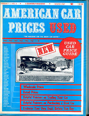 American Car Prices Used Winter 1967 Used Car Price Guide EX 122815jhe2