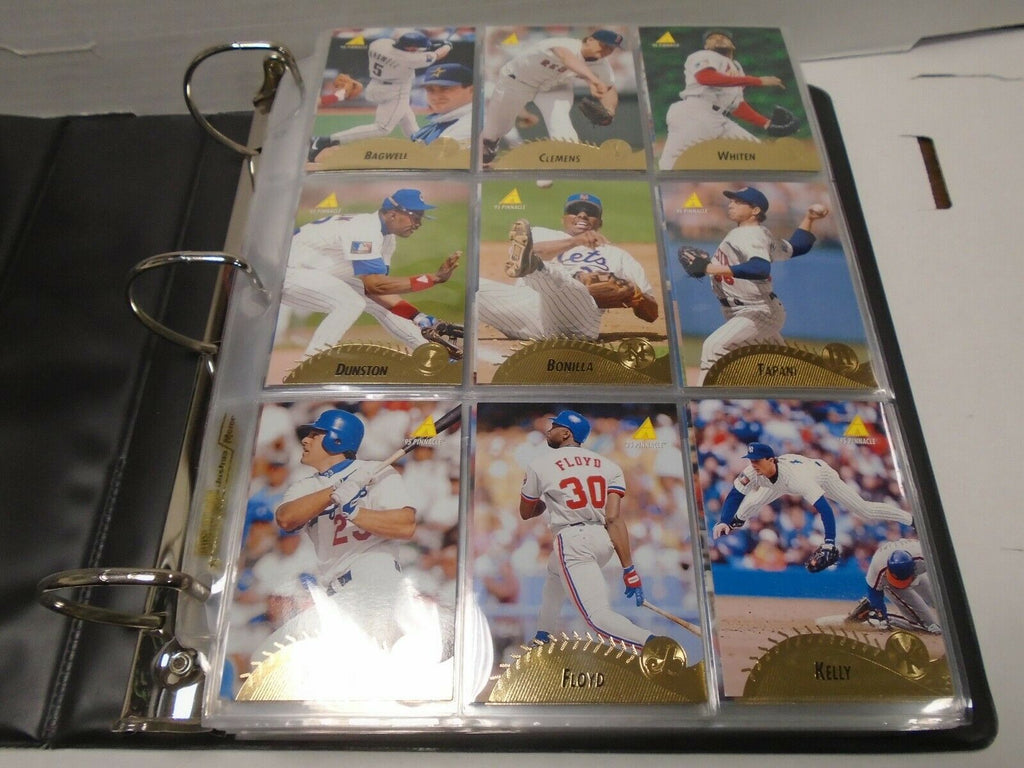 Pinnacle 1995 Baseball Complete 450 Card Set Roger Clemens 121319AMCS