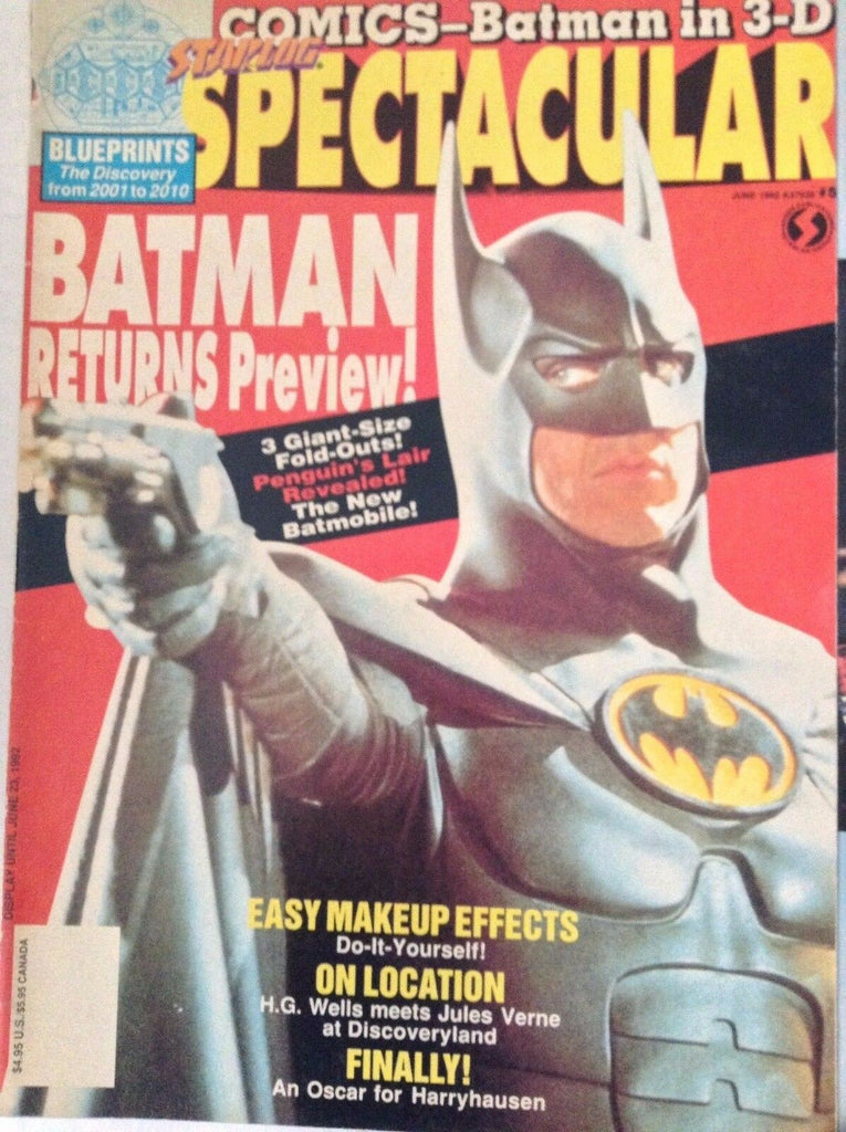 Starlog Spectacular Magazine Batman Returns June 1992 082417nonrh2