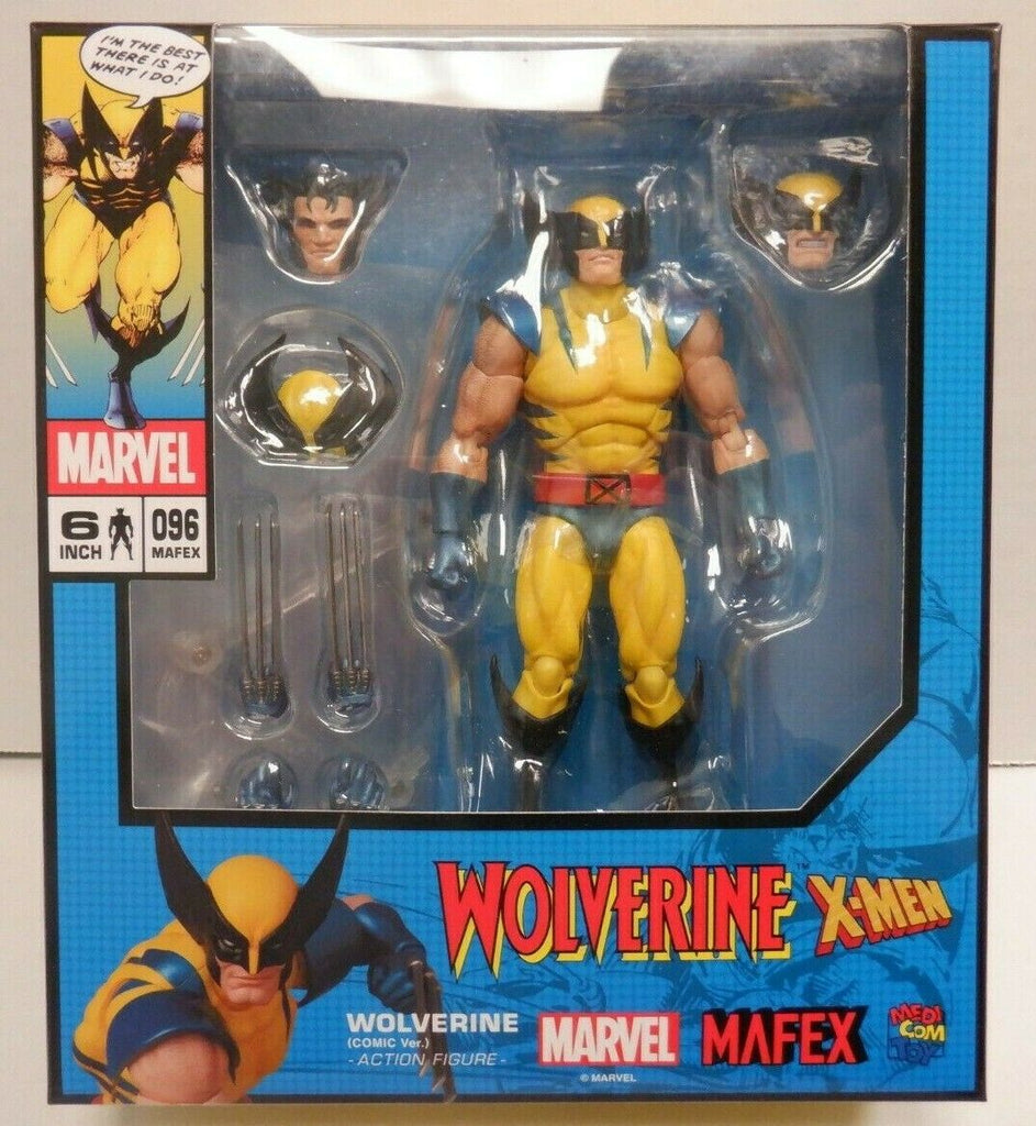 Mafex Wolverine Comic Version X-men Mafex Action Figure 96 010720DBT3