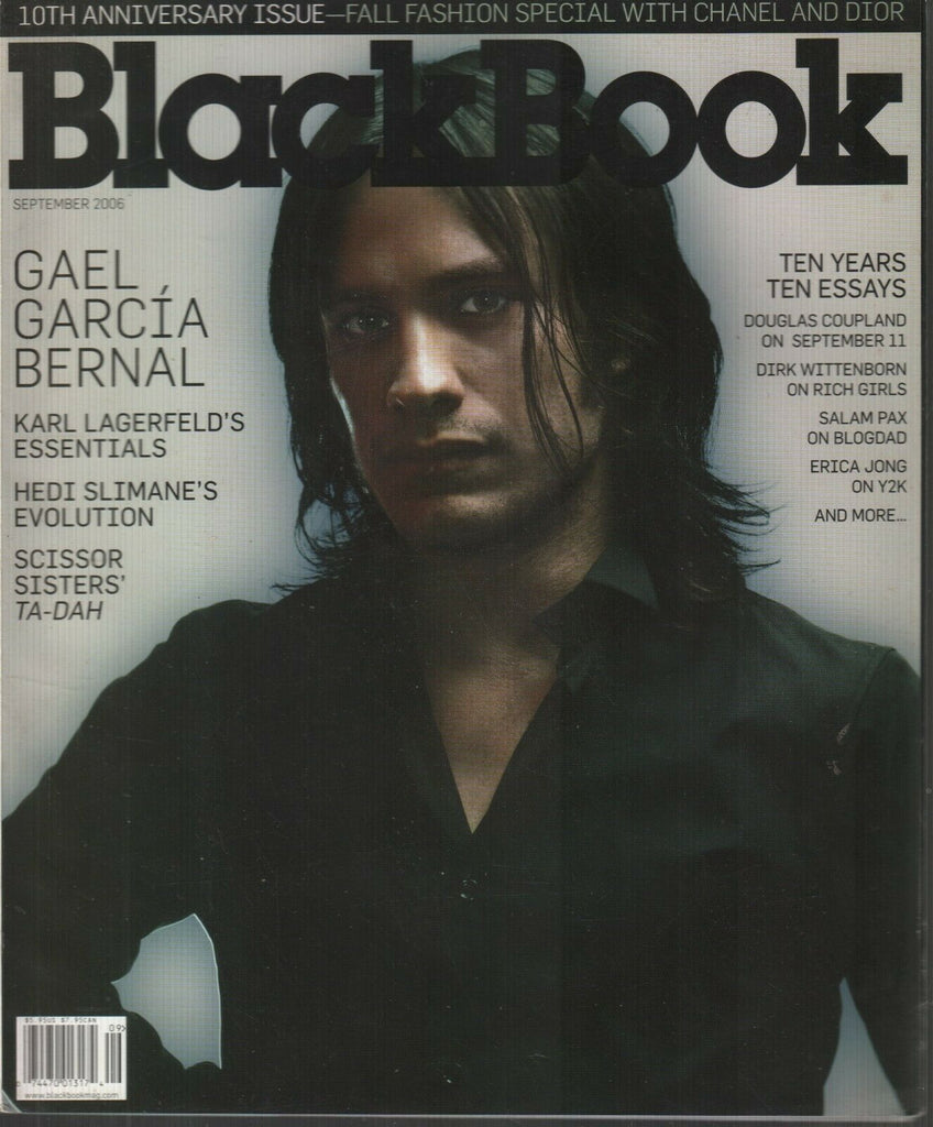 Black Book September 2006 Gael Garcia Bernal Hedi Slimane 120519AME
