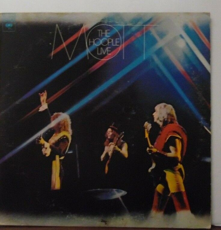 Mott the Hoople Live vinyl AL33282 072818LLE