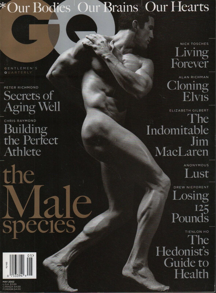 GQ Magazine May 2002 Jim MacLaren Alan Richman Peter Richmond 081518DBE