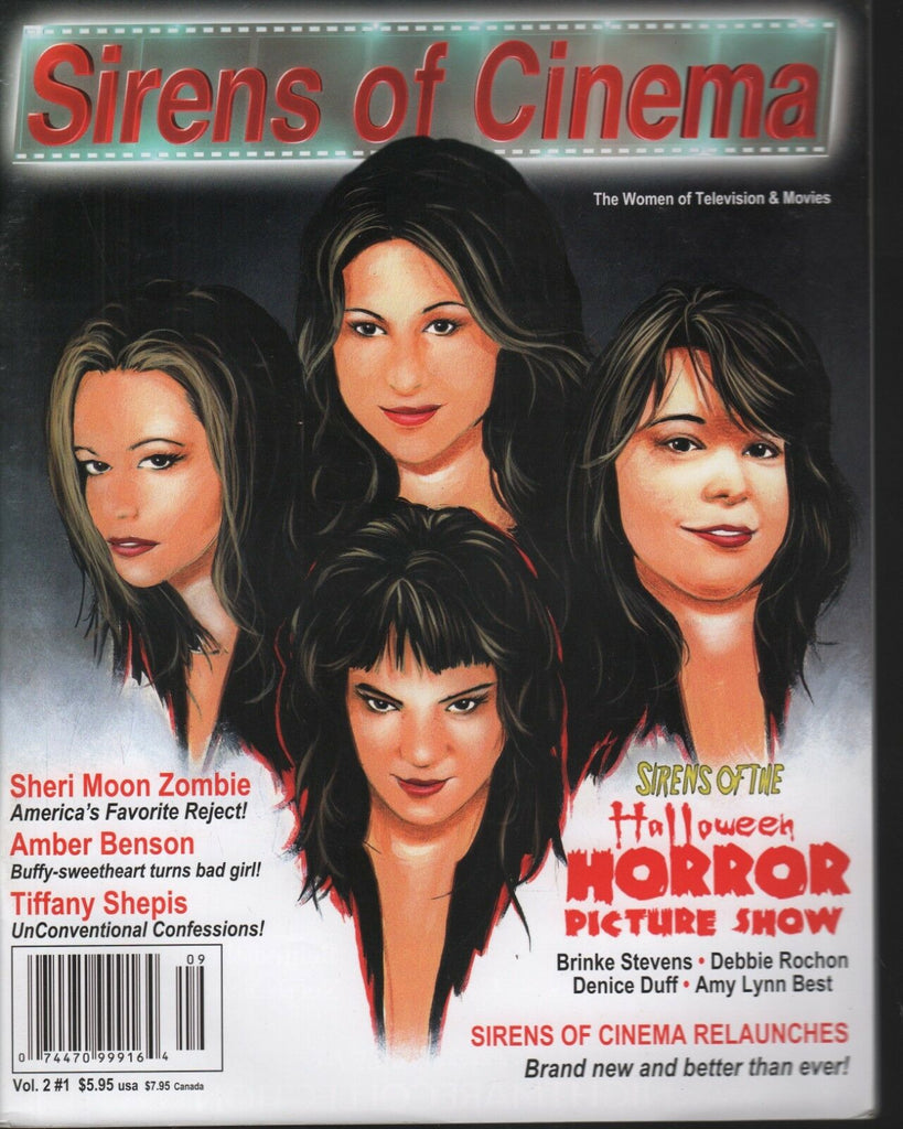 Sirens of Cinema Vol 2 #1 Tiffany Shepis Amber Benson 092118AME2