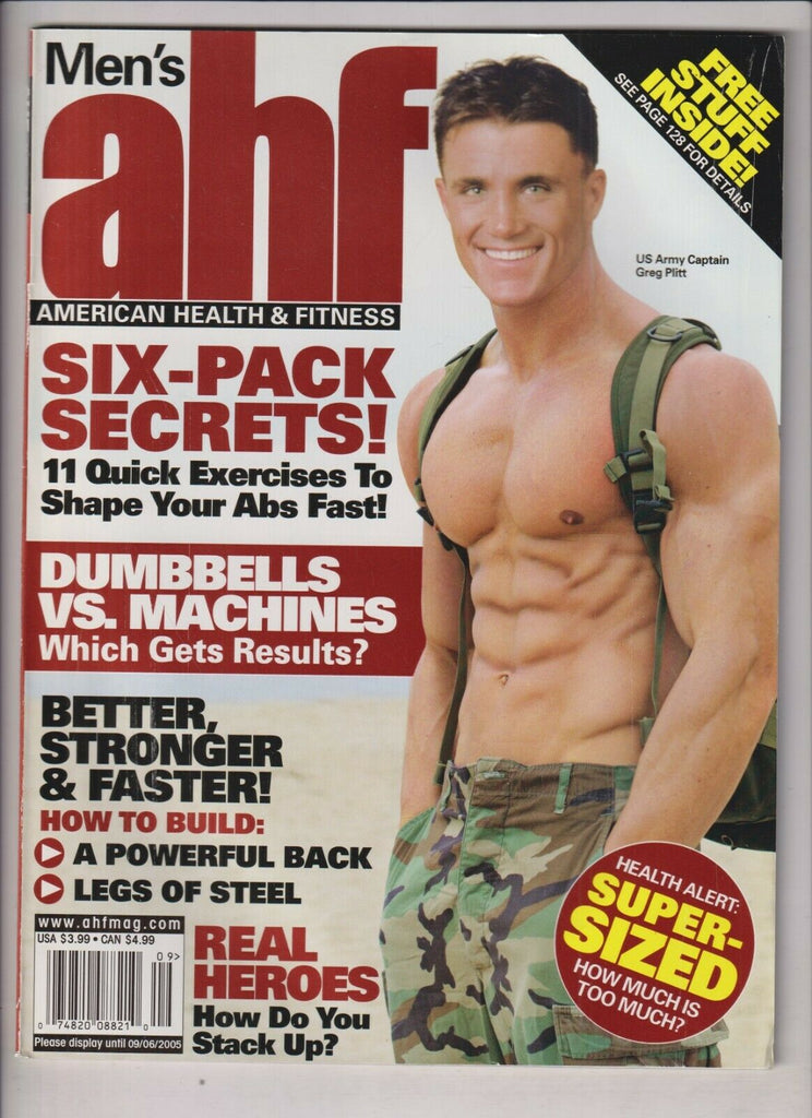 American Health & Fitness Greg Plitt Aug/Sept 2005 030920nonr